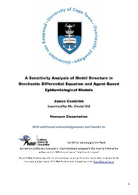 A Sensitivity Analysis of Model Structure in Stochastic